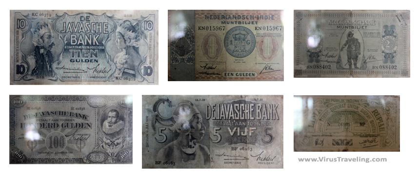 Koleksi Mata Uang Jaman Belanda di Museum BRI Purworkerto