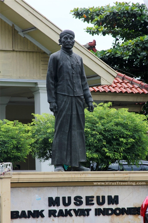 Raden Aria Wirjaatmadja di Museum BRI Purwokerto