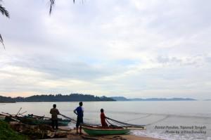 Nelayan dan Pantai Pandan Tapanuli Tengah