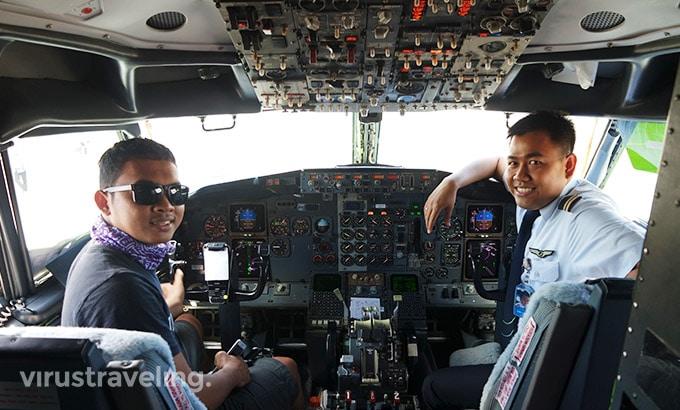 Kabin Pilot Sriwijaya Air