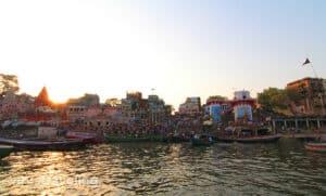 varanasi-sunset-at-gangga-river