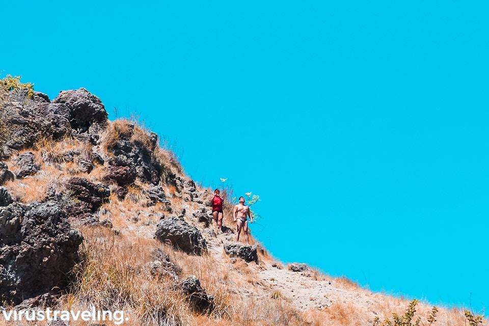 Koper Traveler at Pulau Padar Labuan Bajo