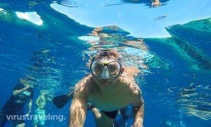 Snorkeling di Pulau Sabolo