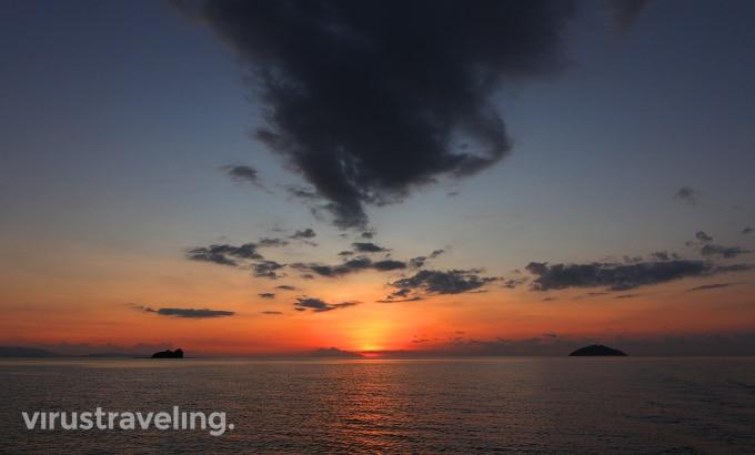 Sunset di Labuan Bajo