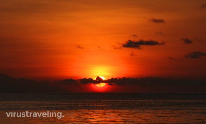 Sunset cantik Labuan Bajo