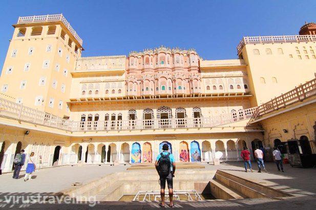 Inside of Hawa Mahal Jaipur India