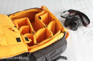 Kompartemen Tas Kamera Kalibre Shooter Pro