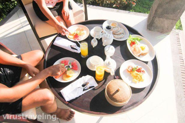 The Sanctoo Villa Breakfast