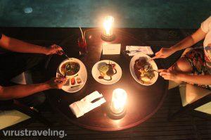 Dinner at The Sanctoo Villa