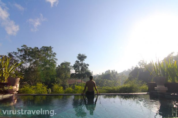 The Sanctoo Villa Ubud Pool View