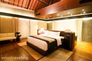 The Sanctoo Riverview Villa Bedroom