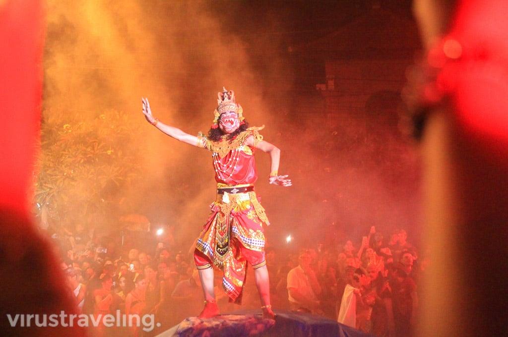 Festival Kesenian saat Nyepi di Bali